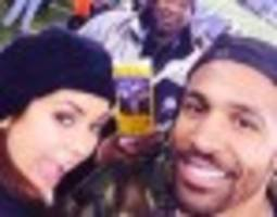 celebrities share super bowl photos on instagram and twitter